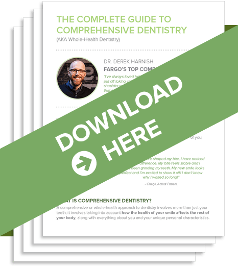 Download our Fargo dentist's free offer about Comprehensive Dentistry.