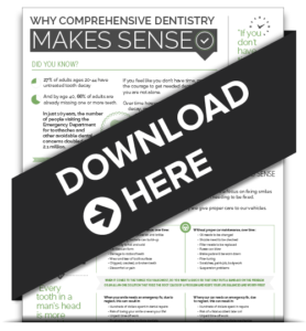 Preview of Why Comprehensive dentistry Makes Sense? Infographic