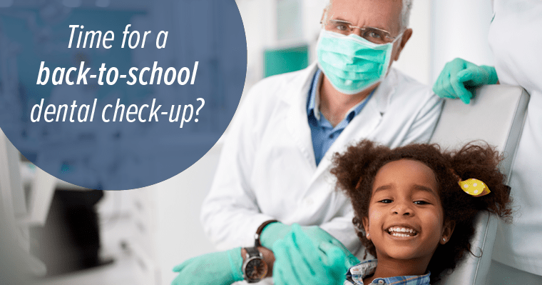 Back-to-School Reminders: Is it Time for a Check-Up?