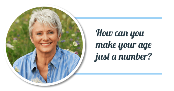 How can you make your age just a number? Dentistry may be the answer!